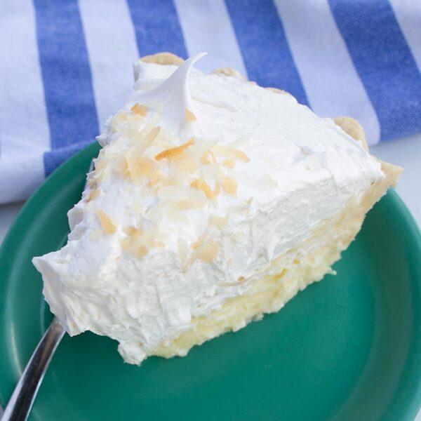 Spoons Fed Coconut Cream Pie