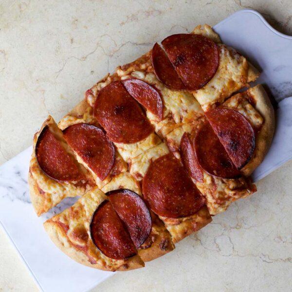 Spoons Fed Pepperoni Flatbread
