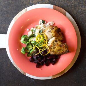 Chicken and Beets