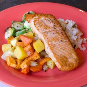 Spoons Fed Lean and Clean Salmon
